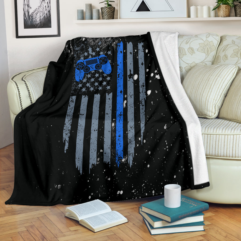 American Gamer PS Premium Blanket