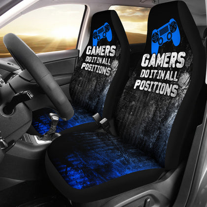 PS Gamer Positions Car Seat Covers (set of 2)