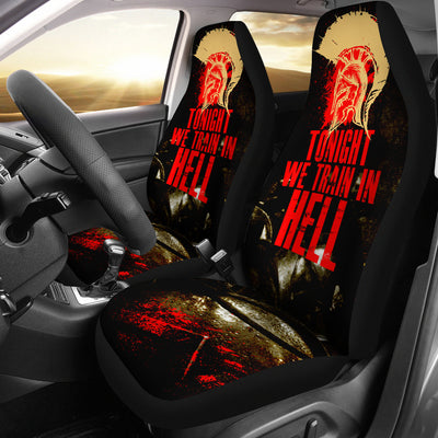 Train In Hell Car Seat Covers (set of 2)