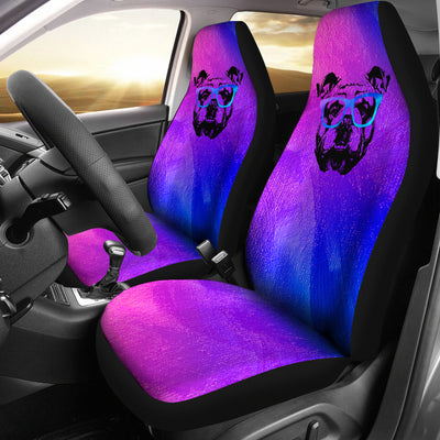 Cool Bulldog Car Seat Covers (set of 2)