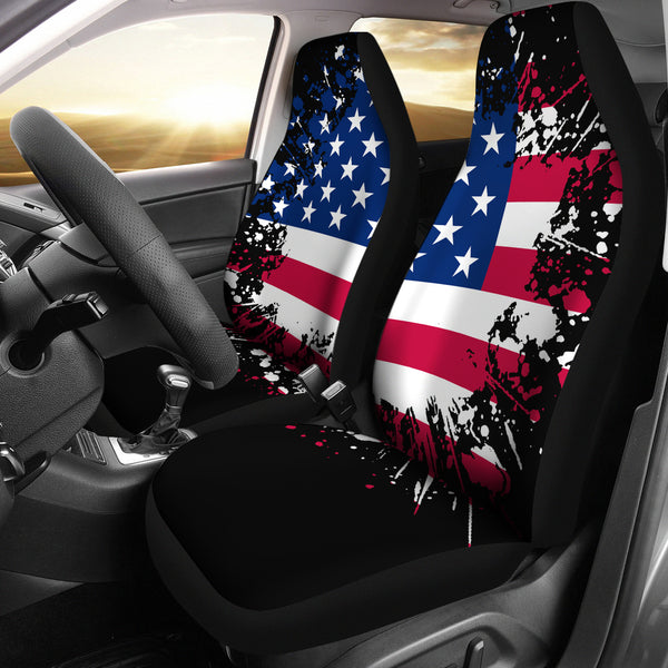 American Grunge Car Seat Covers