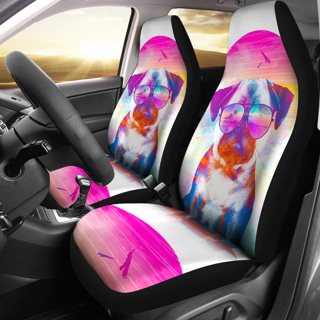 Summer Pug Car Seat Covers