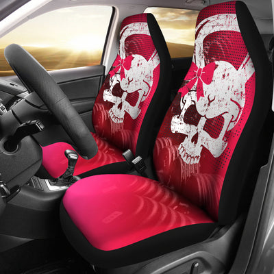 Kettlebell Skull Car Seat Covers (set of 2)