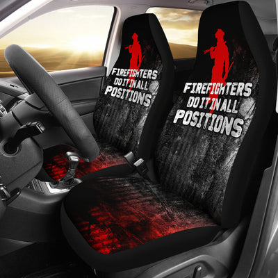 Firefighter Positions Car Seat Covers (set of 2)