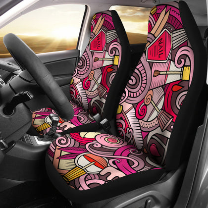 Nail Salon Car Seat Covers (set of 2)