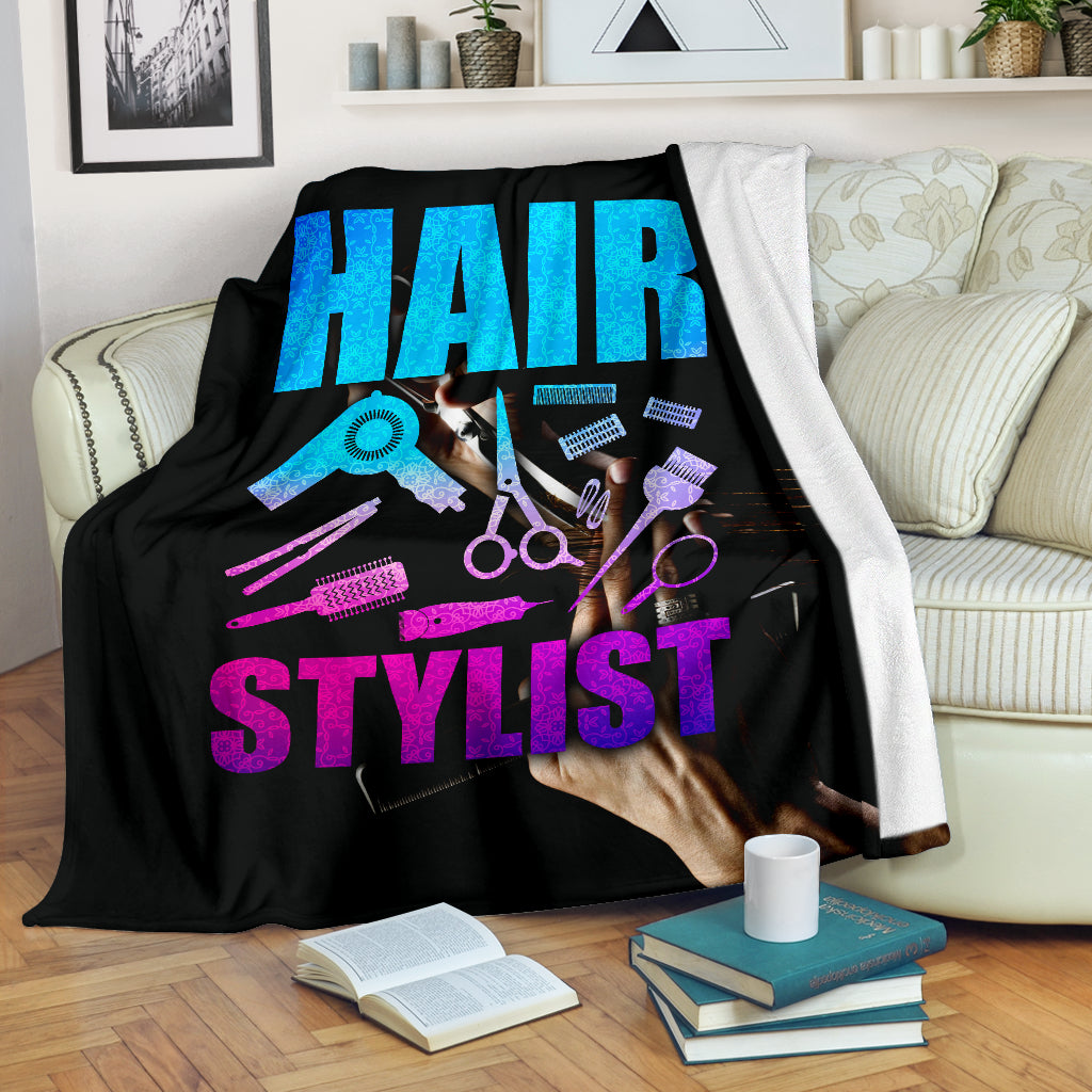 Hair Stylist Premium Blanket