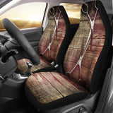 Rustic Hairstylist Car Seat Covers (set of 2)
