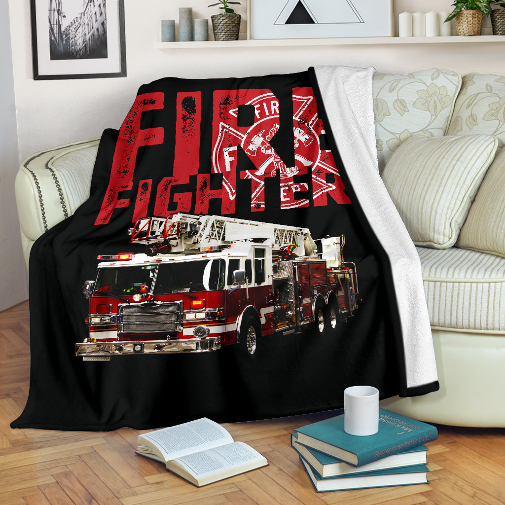 Fire Fighter Premium Blanket