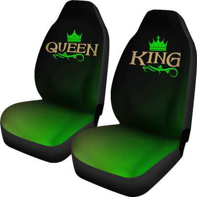 Irish King & Queen Car Seat Covers (set of 2)