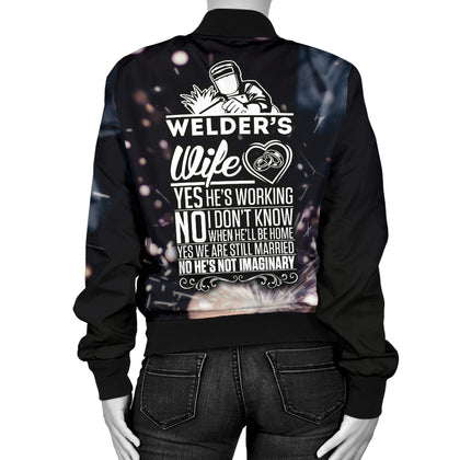 Welder's Wife Bomber Jacket