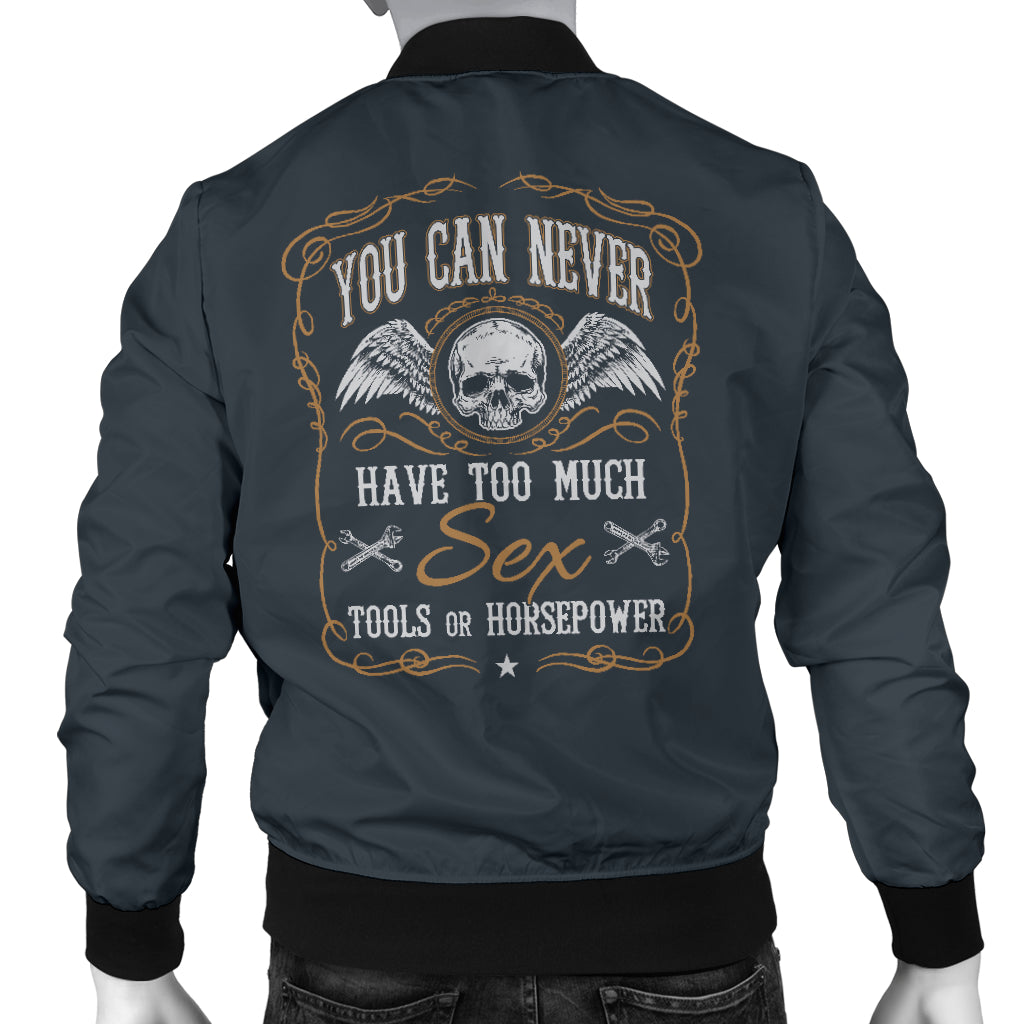 Sex Tools Horsepower Men's Bomber Jacket