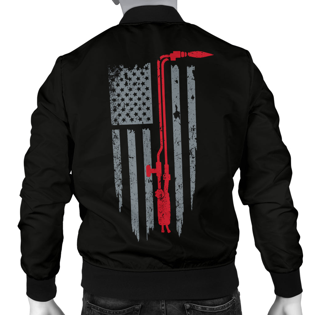 American Welder Men's Bomber Jacket