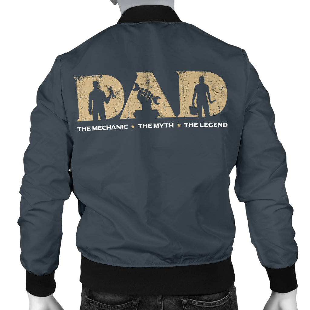 Mechanic Dad Bomber Jacket