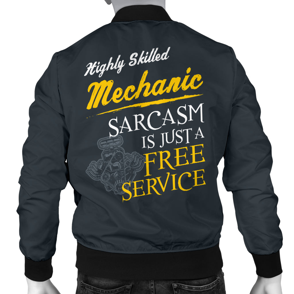 Mechanic Sarcasm Men's Bomber Jacket