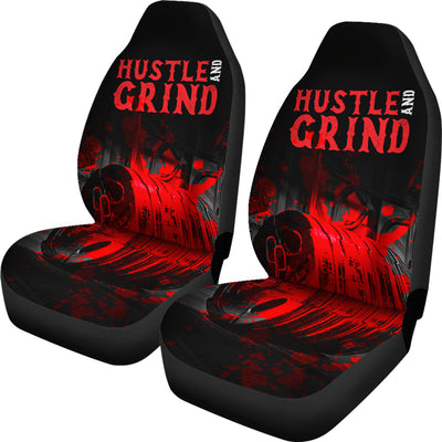 Hustle N Grind Car Seat Covers (set of 2)