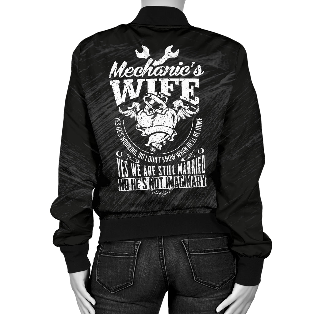 Mechanic's Wife Bomber Jacket