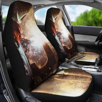 Welder At Work Car Seat Covers (set of 2)