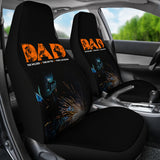 Welder Dad Car Seat Covers