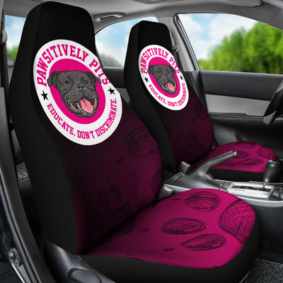 Pawsitively Pits Car Seat Covers (set of 2)
