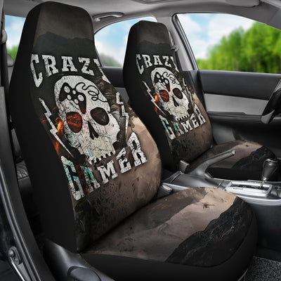 Crazy Gamer Car Seat Covers (set of 2)