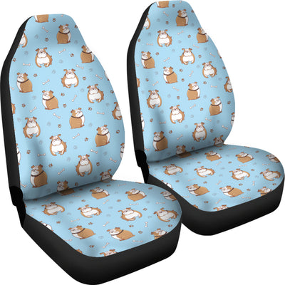 Bulldogs Car Seat Covers (set of 2) - bulldog bestseller