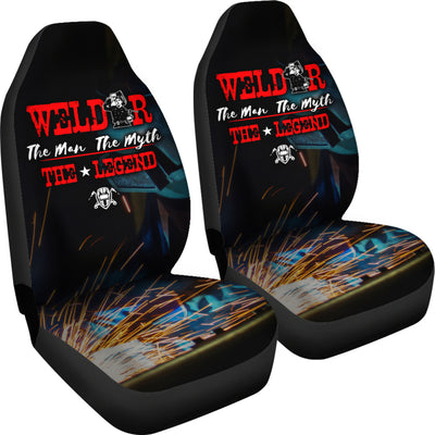 Welder The Legend Car Seat Covers (set of 2)