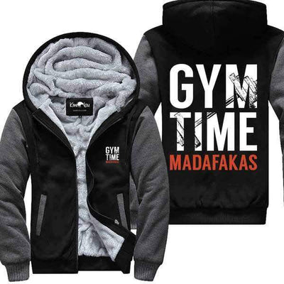 Gym Time Madafakas- Fitness Jacket
