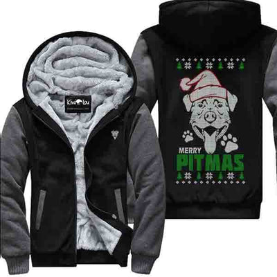 Merry Pitmas Pitbull Jacket