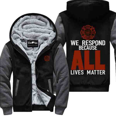 We respond All - Firefighter Jacket