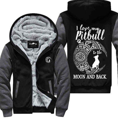 Love my Pitbull to the Moon and Back - Jacket