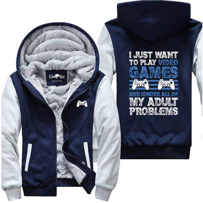 I Just Want to Play Video Games PS4 - Gamer Jacket