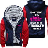 I Don't Want To Be Barbie - Fitness Jacket