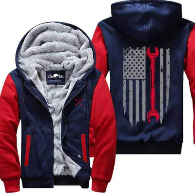 USA Flag- Mechanic Jacket