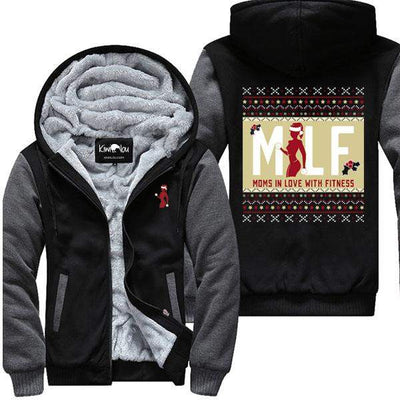 Moms In Love With Fitness - Christmas Jacket