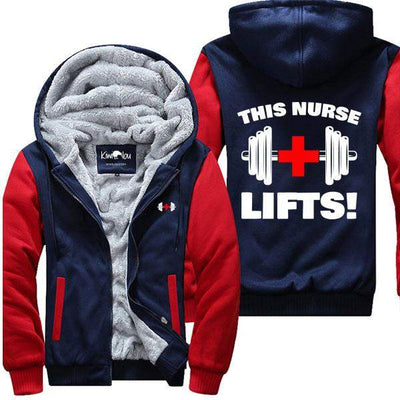 This Nurse Lifts - Fitness Jacket - KiwiLou