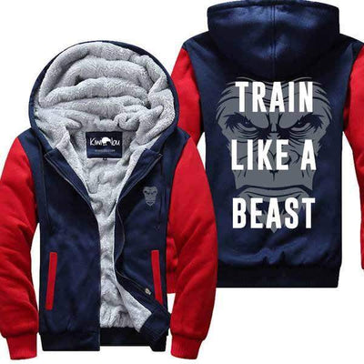 Train Like A Beast- Fitness Jacket
