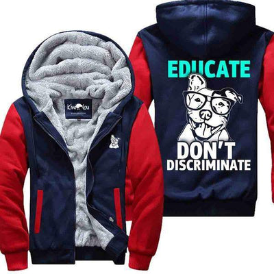 Educate  -Pitbull Jacket