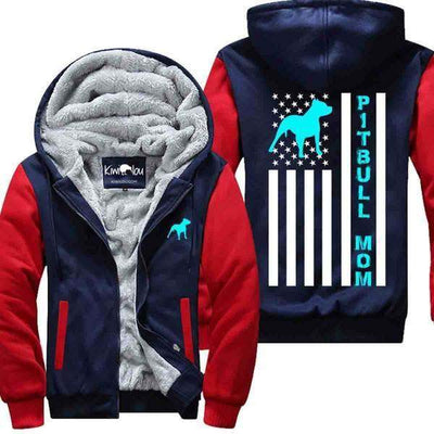 Pitbull Flag- Jacket