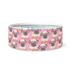 Love Pug Dog Bowl