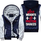 Sex Weights and Protein Shakes - Jacket