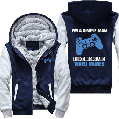 Simple Man - Like Boobs and Video Games PS4 Jacket
