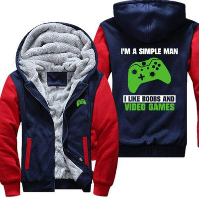 Simple Man - Like Boobs and Video Games XB Jacket