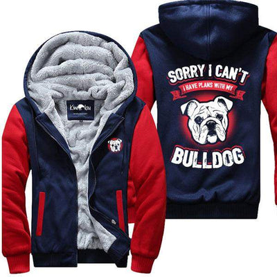 I Have Plans With My Bulldog - Jacket