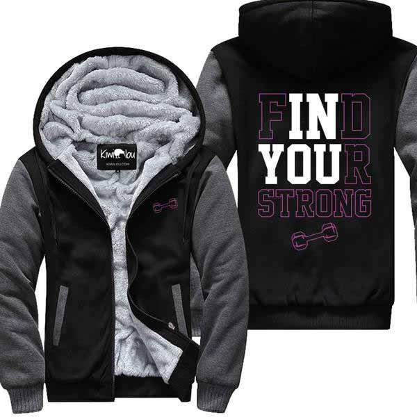 Find Your Strong - Jacket