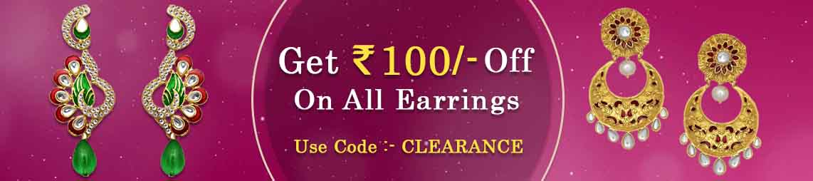 Earrings Clearance
