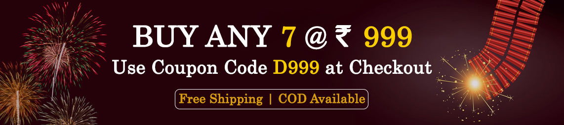 Buy Any 7 @ Rs.999/-