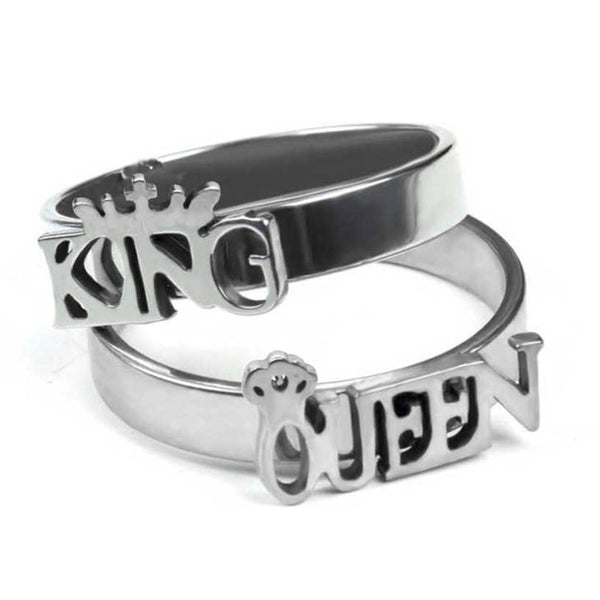 Urbana  His Queen Her King Couple Rings Set -1004399