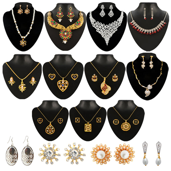 14Fashions Set of 15 Jewellery Combo Set