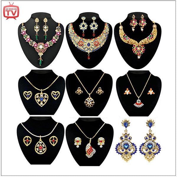 14Fashions Set Of 9 Jewellery Combo