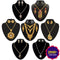 14Fashions Set Of  7 Jewellery Combo - 1002212-CL